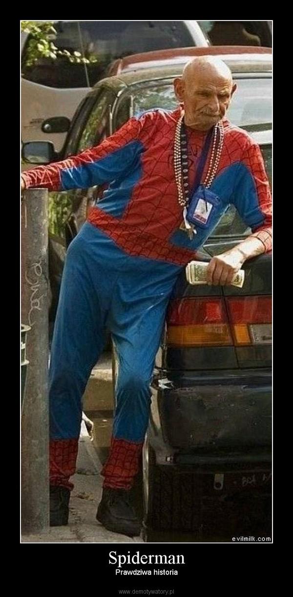Spiderman – Prawdziwa historia
