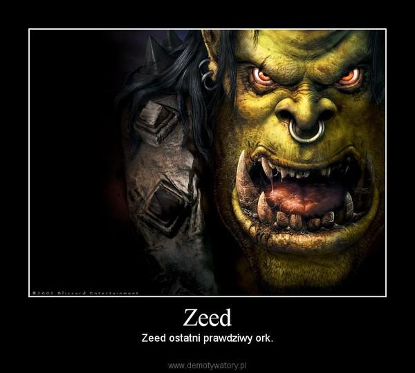 Zeed – Zeed ostatni prawdziwy ork.