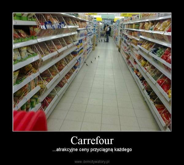 Carrefour – ...atrakcyjne ceny przyciągną każdego