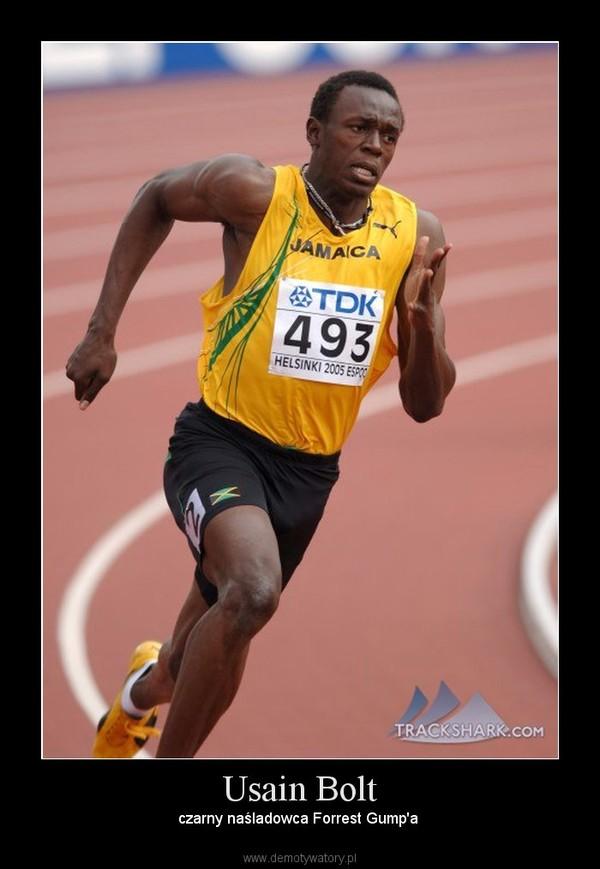 Usain Bolt – czarny naśladowca Forrest Gump'a
