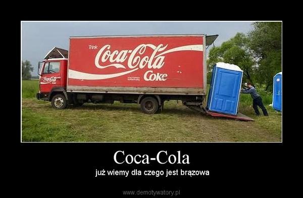 Coca-Cola –  już wiemy dla czego jest brązowa