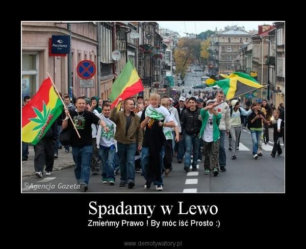 Spadamy w Lewo –  Zmieńmy Prawo ! By móc iść Prosto :)