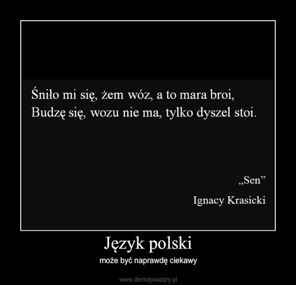 Język polski – może być naprawdę ciekawy