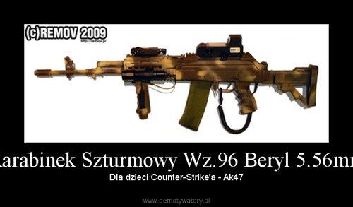 Karabinek Szturmowy Wz.96 Beryl 5.56mm