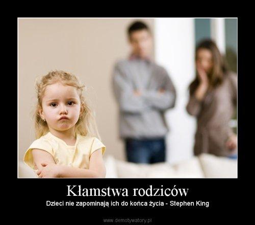 Kłamstwa rodziców