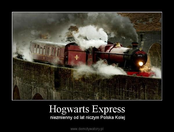 Hogwarts Express – niezmienny od lat niczym Polska Kolej