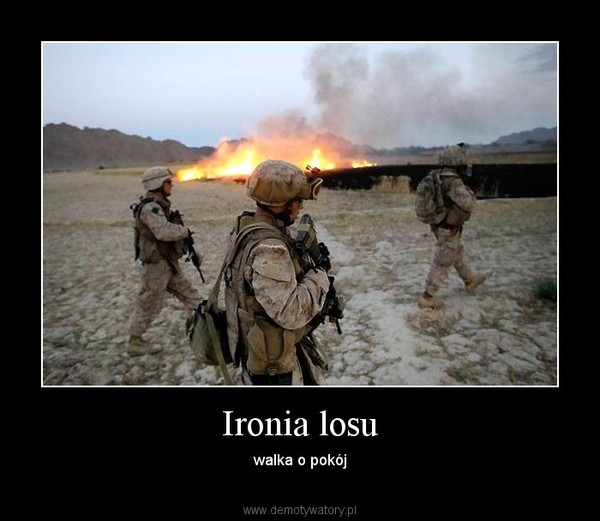 Ironia losu – walka o pokój
