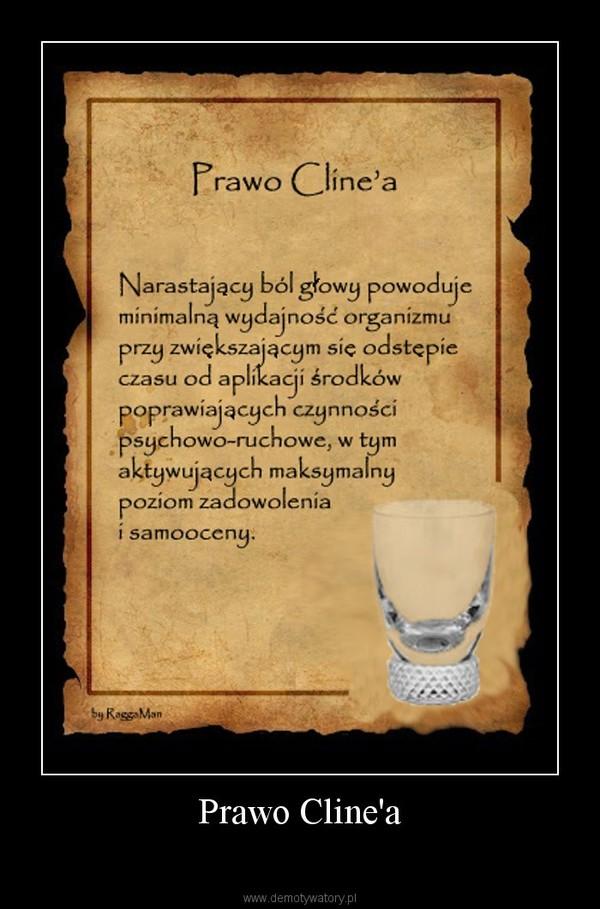 Prawo Cline'a –