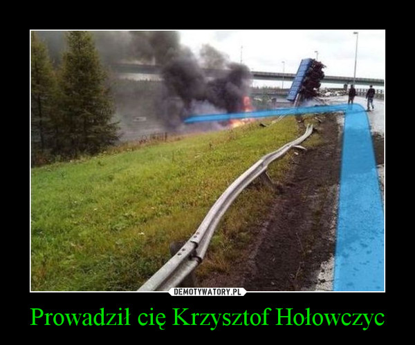 Prowadził cię Krzysztof Hołowczyc –