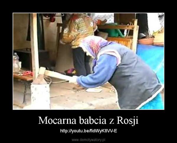Mocarna babcia z Rosji – http://youtu.be/fidWyK8VV-E