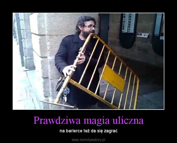 Prawdziwa magia uliczna – na barierce też da się zagrać