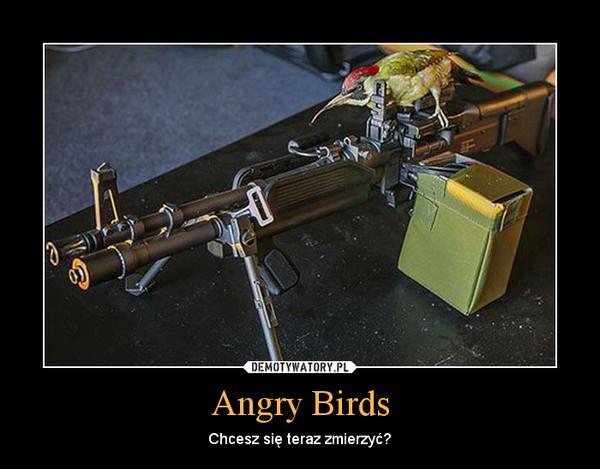 Angry Birds – Chcesz się teraz zmierzyć?