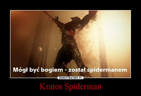 Kratos Spiderman –