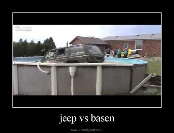 jeep vs basen –