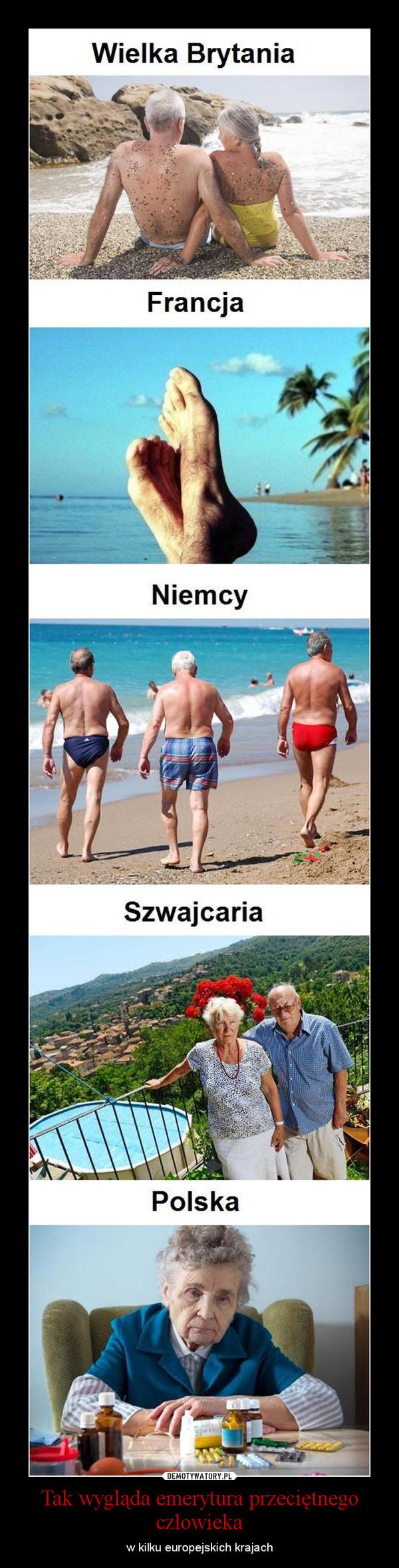 Tak wygląda emerytura przeciętnego człowieka – w kilku europejskich krajach