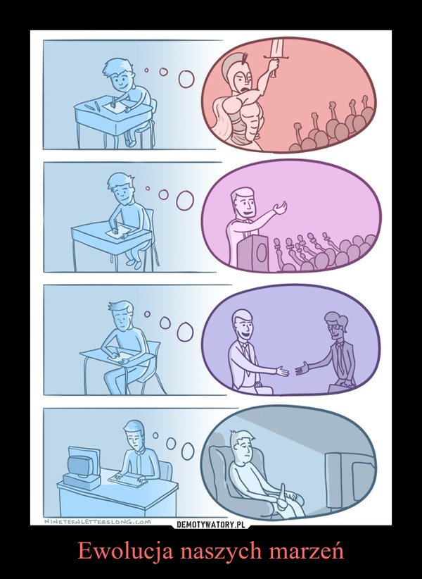 Ewolucja naszych marzeń –
