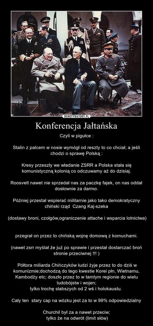 Konferencja Jałtańska