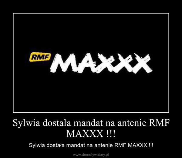 Sylwia dostała mandat na antenie RMF MAXXX !!! – Sylwia dostała mandat na antenie RMF MAXXX !!!