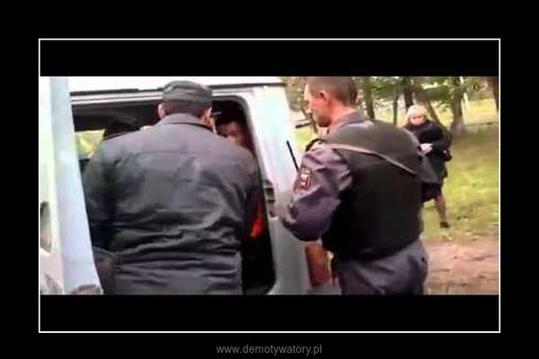 milicja w akcji –