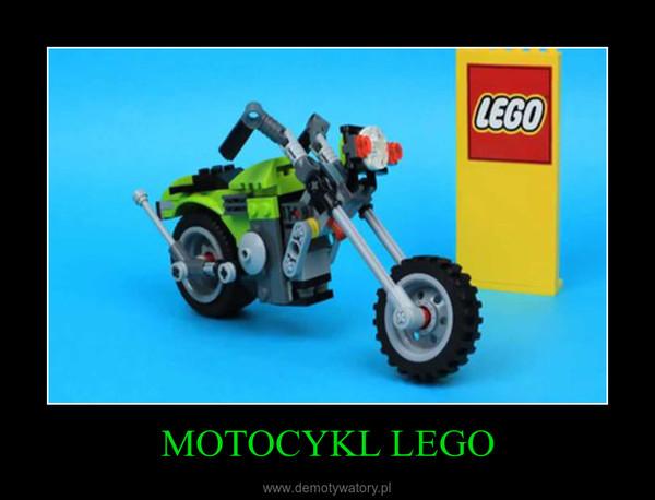 MOTOCYKL LEGO –