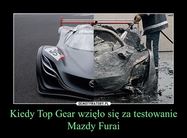 Kiedy Top Gear wzięło się za testowanie Mazdy Furai –