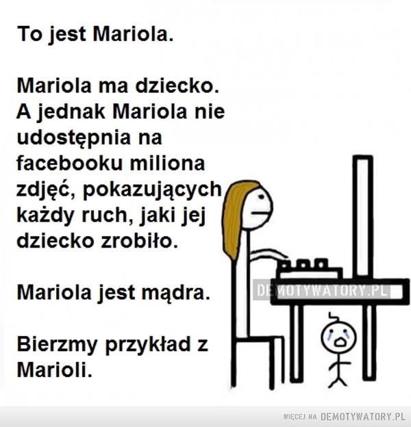Brawo Mariola! –