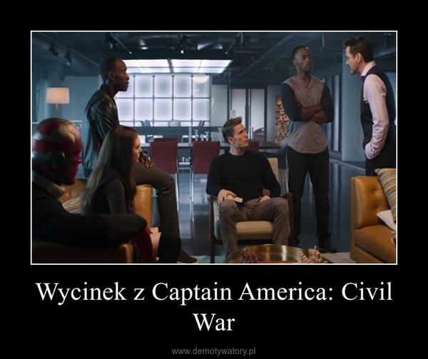 Wycinek z Captain America: Civil War –