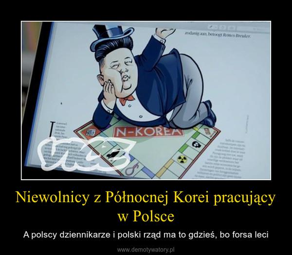 Niewolnicy z Północnej Korei pracujący w Polsce – A polscy dziennikarze i polski rząd ma to gdzieś, bo forsa leci