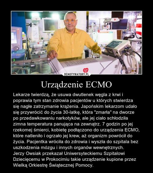 Urządzenie ECMO