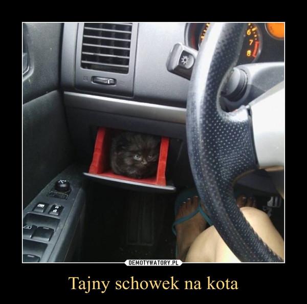 Tajny schowek na kota –