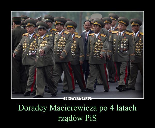 Doradcy Macierewicza po 4 latach rządów PiS –