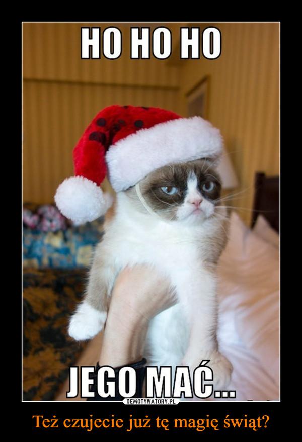 Też czujecie już tę magię świąt? –