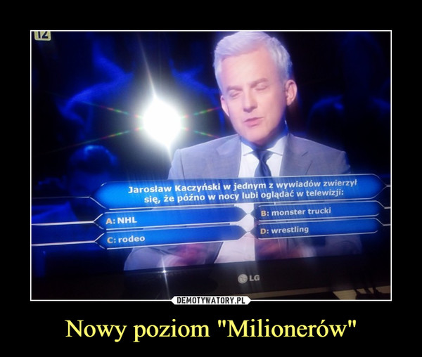 """Nowy poziom """"Milionerów"""" –"""