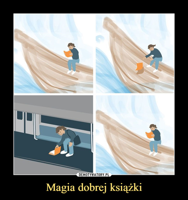 Magia dobrej książki –