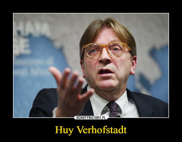 Huy Verhofstadt –
