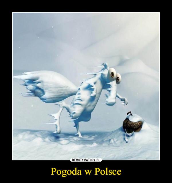Pogoda w Polsce –