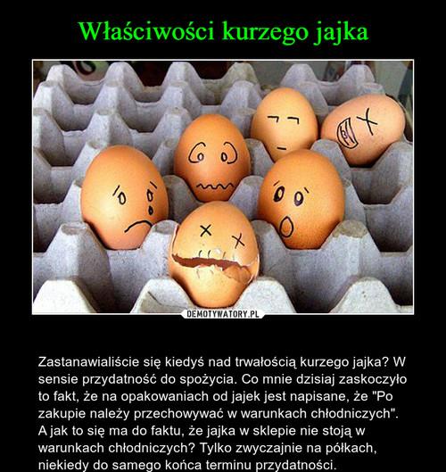 Właściwości kurzego jajka