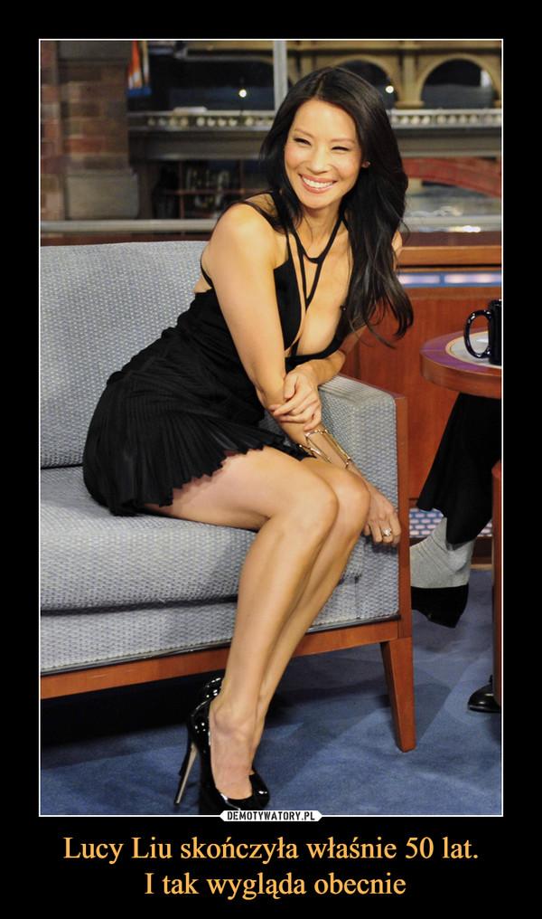 Lucy Liu skończyła właśnie 50 lat. I tak wygląda obecnie –