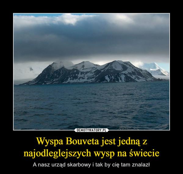 Wyspa Bouveta jest jedną z najodleglejszych wysp na świecie – A nasz urząd skarbowy i tak by cię tam znalazł