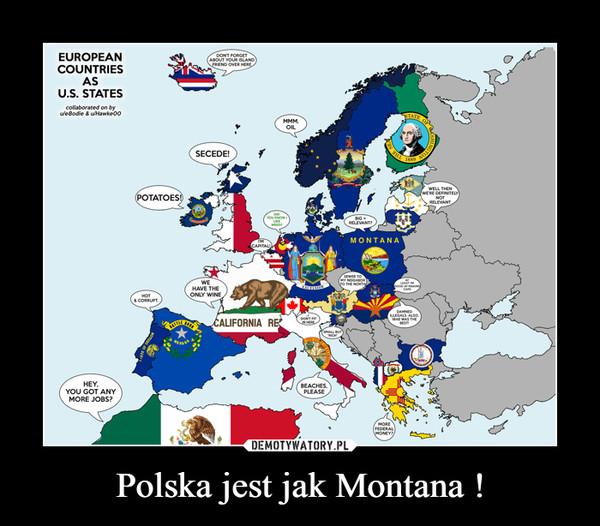 Polska jest jak Montana ! –
