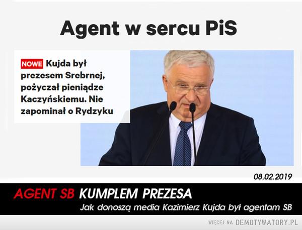 Agent SB kumplem Prezesa –