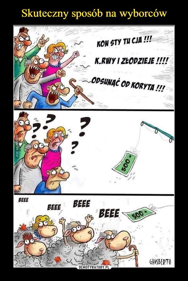 –  KONSTYTUCJA!!!K*RWY I ZŁODZIEJE!!!ODSUNĄĆ OD KORYTA!!!500BEEE BEEE BEEE BEEE