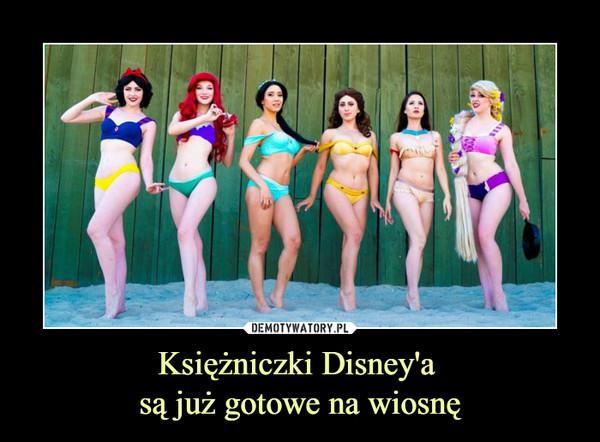 Księżniczki Disney'a są już gotowe na wiosnę –