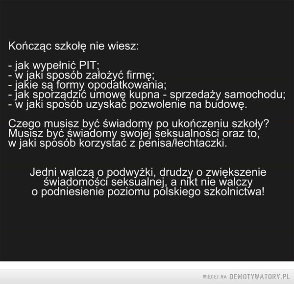 Współczesny problem Polski –
