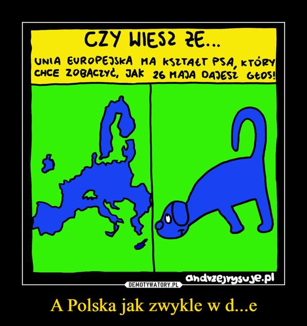 A Polska jak zwykle w d...e –