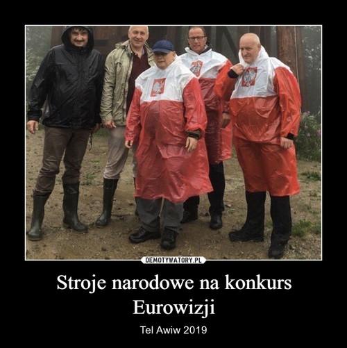 Stroje narodowe na konkurs Eurowizji