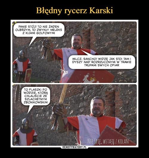 Błędny rycerz Karski