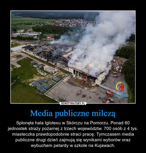 Media publiczne milczą