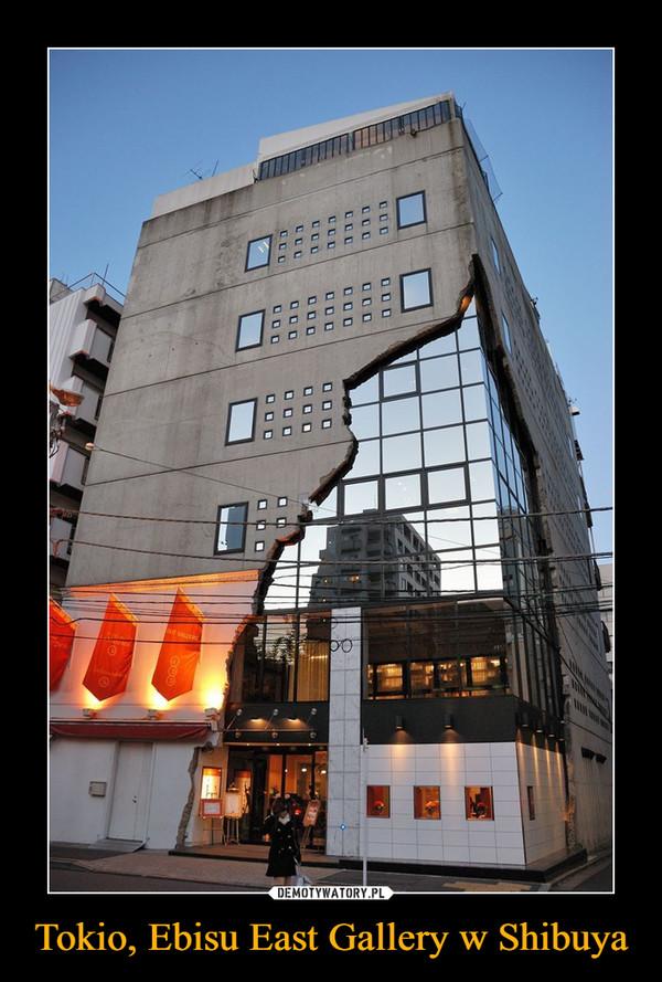 Tokio, Ebisu East Gallery w Shibuya –