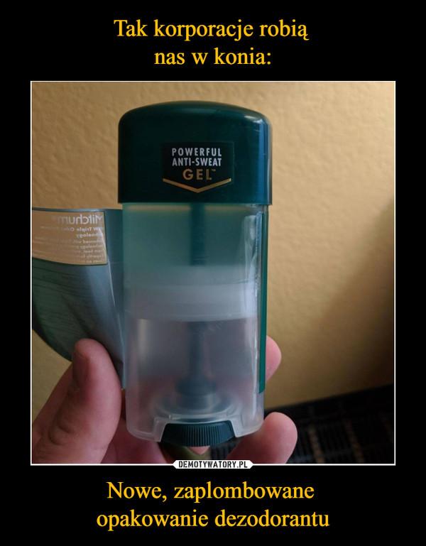 Nowe, zaplombowane opakowanie dezodorantu –